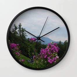 Mountain Magic Wall Clock