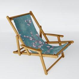 SAKURA LOVE  GRUNGE TEAL Sling Chair