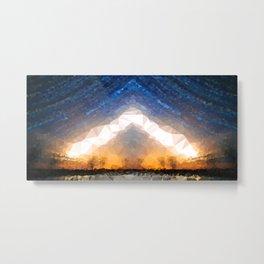 Crystal Moonrise Metal Print
