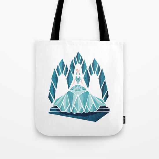 Waiting ( The Snow Queen ) Tote Bag