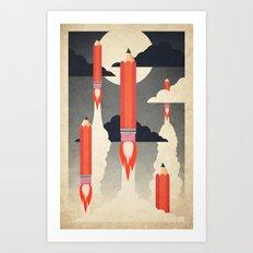 An Artists Imagination Art Print