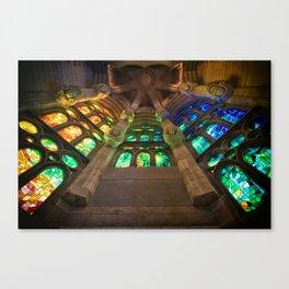 la Sagrada Família Canvas Print