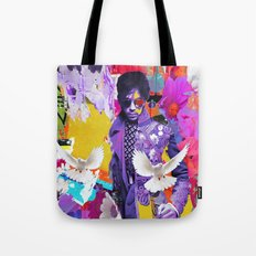doves cry Tote Bag