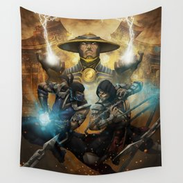 Sub-zero mk game Wall Tapestry