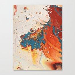Collision Canvas Print