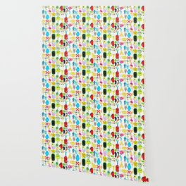 Rainbow Microbes Wallpaper