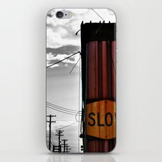 Slow Your Roll iPhone & iPod Skin