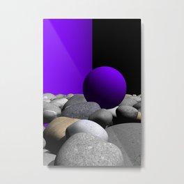 go violet -09- Metal Print