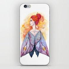 Moth wings iPhone & iPod Skin
