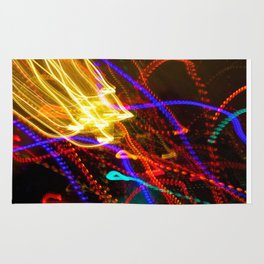 Painting with Christmas Lights - The Peace Collection Rug