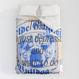 Depressed Dog Lover Comforters