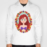 ariel Hoodies featuring Ariel  by Joey Ellson