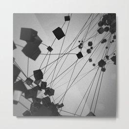 Plato / Hexahedron = Earth Metal Print