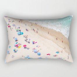 Colors of Manhattan Beach California Rectangular Pillow