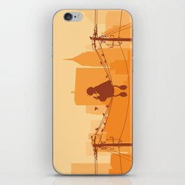 Too Big For The City iPhone Skin