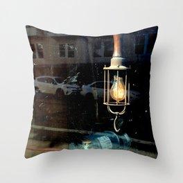 What Light Through Yonder Window... Throw Pillow