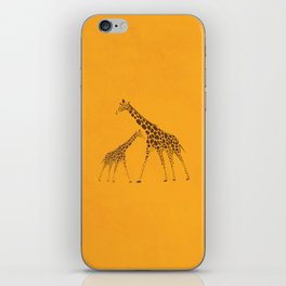 Wild Animal Giraffe Picture iPhone Skin