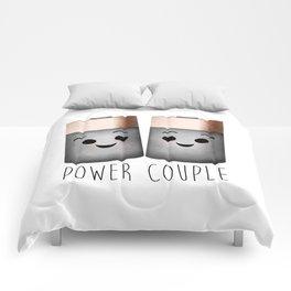 Power Couple | Batteries Comforters