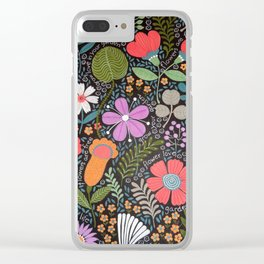 GROW LOVE IN YOUR GARDEN Clear iPhone Case