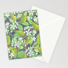 Pear Orchard Stationery Cards