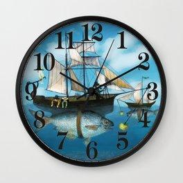 Sea Journey Wall Clock