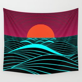 Don't let the sun go down on me Wall Tapestry