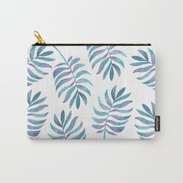 Wild, Barefoot & Free - Palm Leaf Quote Carry-All Pouch