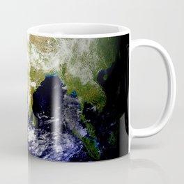 Earth Globe East Shadow Coffee Mug