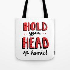 Head Up Tote Bag