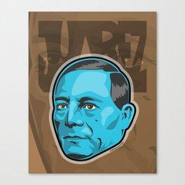 Benito Juarez  Canvas Print
