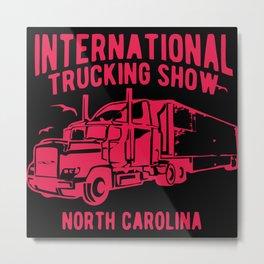 International Trucking Show Metal Print