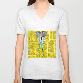 Sunshine Kinda Day Unisex V-Neck