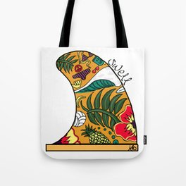 Swell Fin Tote Bag
