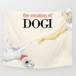 The Creation of Dogi Wall Tapestry