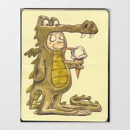 Dragon Boy Canvas Print
