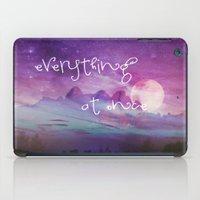 dreamer iPad Cases featuring DREAMER by Monika Strigel
