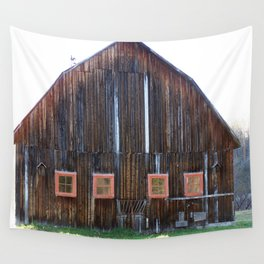 Rustic Old Country Barn Wall Tapestry