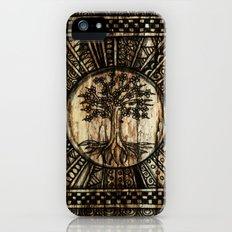 Tree Pattern Slim Case iPhone (5, 5s)