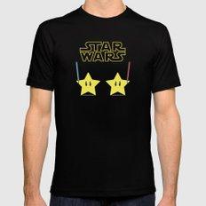 Star Wars Mens Fitted Tee Black MEDIUM