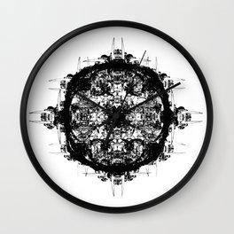 Bone Symmetry II Wall Clock