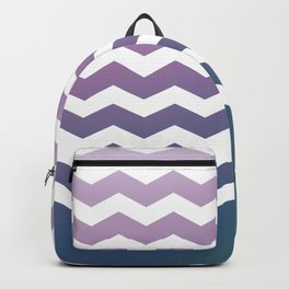 Chevron Smooth Gradient Backpack