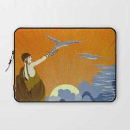 """Wings of Victory"" Art Deco Design Laptop Sleeve"