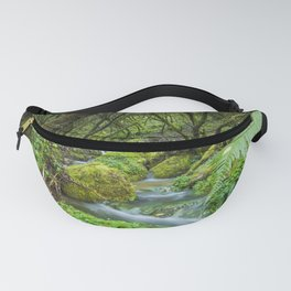 Deep in the green forest Fanny Pack