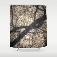 shadow Shower Curtains featuring Shadow by Maria Heyens