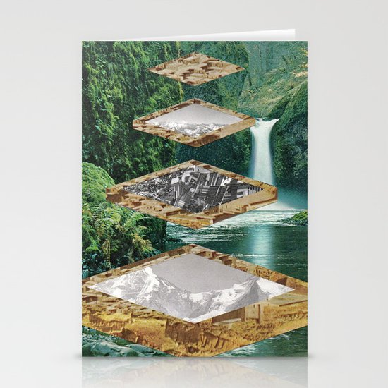 Four Landscapes Stationery Cards