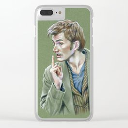 Doctor's Orders Clear iPhone Case