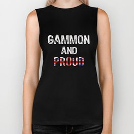 Top Fun Brexit gammon and Proud Design Biker Tank