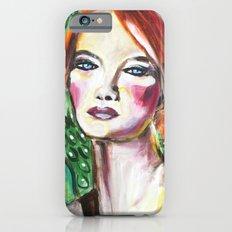 VanGogh Girl iPhone 6s Slim Case