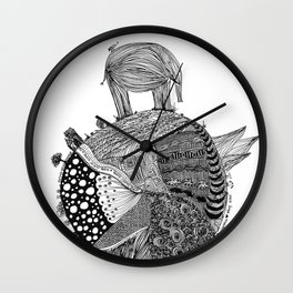 Out of Place - Elephant Wall Clock