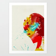 Businessman Art Print